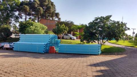 Começa obra da nova adutora do Sistema de Água em São Miguel do Oeste (SC)