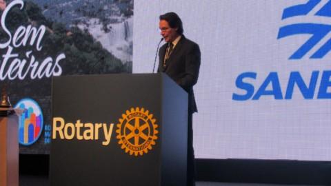 Presidente da Sanepar destaca importância de parcerias para a preservação ambiental em Foz do Iguaçu (PR)