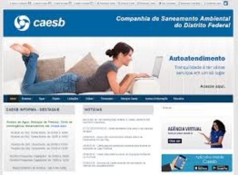 Caesb muda horário dos escritórios e amplia o autoatendimento no site