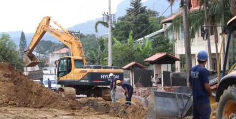 Mais de 40% das obras de esgotamento sanitário estão concluídas em Rio do Sul (SC)