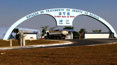 Início das obras de ampliação da ETE Goiânia é autorizado