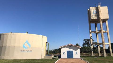 Água tratada para população do Distrito Nova Casa Verde, no Estado do MS