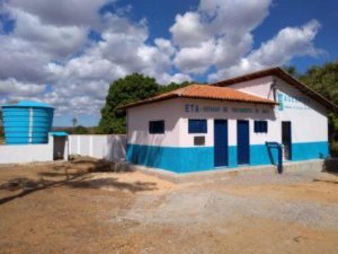 Agespisa recupera Estação de Tratamento de Água de Curimatá (PI)