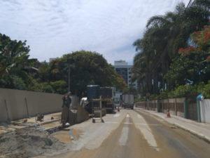 Obra de ampliação da rede de esgoto em São José (SC) será mantida até 21 de dezembro