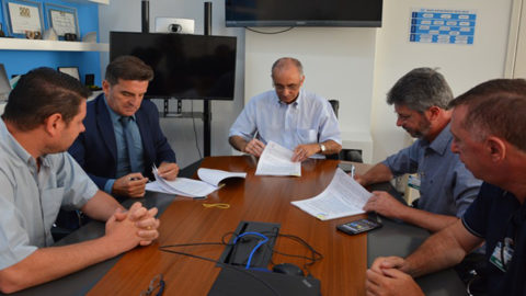 Santana da Boa Vista (RS) assina contrato de programa com a Corsan