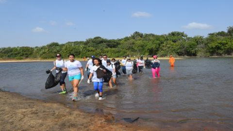 Caminhada ecológica em Roraima abre as ações ambientais na Caerr