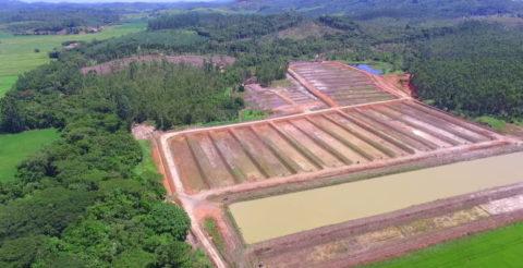 Drones ajudam a desobstruir barragens no Rio Piçarras, em SC
