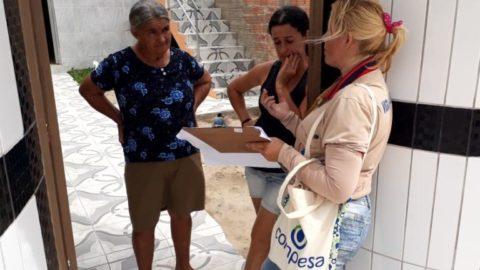 Compesa realiza trabalho social em Belo Jardim (PE) para implantação de sistema de esgotamento sanitário