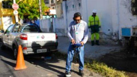 Bairro de Juazeiro do Norte (CE) recebe serviço de prevenção contra vazamento
