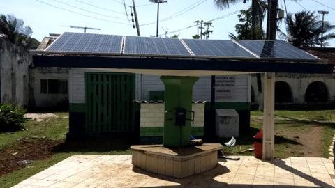 Compesa utiliza energia solar para operar sistema de dessalinização em Fernando de Noronha (PE)