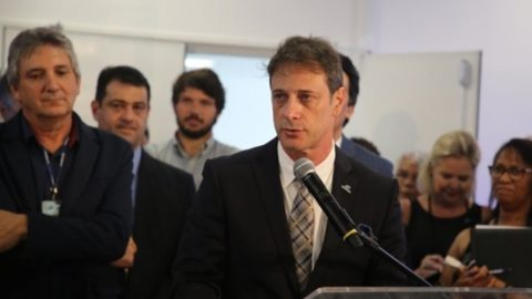 Sanepar faz 56 anos com posse da nova diretoria, em Curitiba (PR)