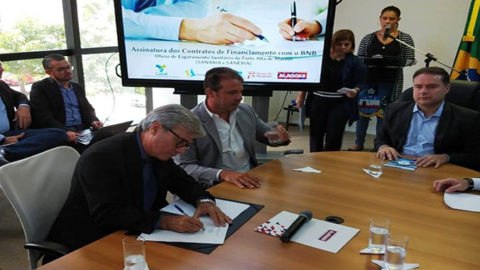 Obras de saneamento vão dobrar rede de esgotamento sanitário de Maceió
