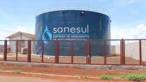 Sanesul inaugura Estação de Tratamento de Esgoto em Maracaju (MS)