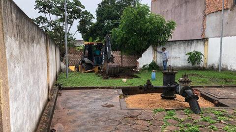 Cosanpa perfura novo poço do sistema Elcione Barbalho, em Santarém (PA)
