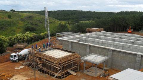 Trabalhos do Sistema de Esgotamento Sanitário de Curitibanos se concentram na construção de elevatória