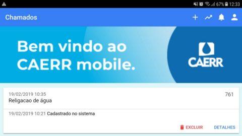 Caerr Mobile tem nova funcionalidade e agiliza serviço de religação