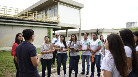Conhecendo Nossa Cagece: programa promove visitas às instalações da companhia do Ceará para o público externo