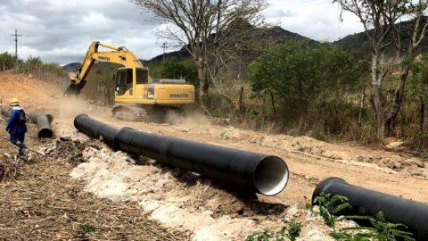 Brejo da Madre de Deus, no Agreste Pernambucano, é beneficiada com água do Rio São Francisco