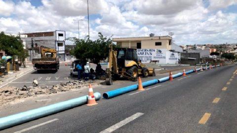 Nova adutora beneficia os municípios de Caetés e Capoeiras, no Agreste Meridional de Pernambuco, com mais água nas torneiras