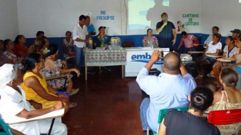 Povoado de Água Doce, em Ibicuí (BA), terá água de qualidade da Embasa