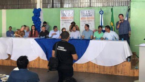 Diretoria da Sanesul participa de evento e destaca importância de investir em saneamento