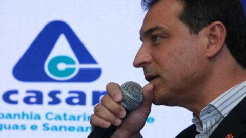 Governador reforça papel da Casan e conclama prefeitos catarinenses a manterem vínculos com a Companhia
