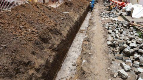 Iniciada obra de esgotamento sanitário na Praia de Ponta de Pedras e Centro de Goiana (PE)