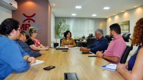 Depasa discute sobre distribuição de água e obras de saneamento básico no Acre