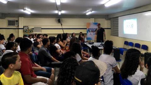 Compesa promove Oficina de Grafitagem para estudantes de Olinda (PE)