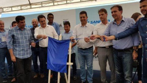 Sanepar amplia abastecimento de água em Londrina (PR)