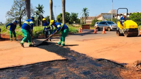 Grandes obras ampliam o fornecimento de água tratada em Dourados (MS)