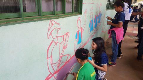Oficina de grafitagem desperta talento e consciência ambiental em Marabá (PA)