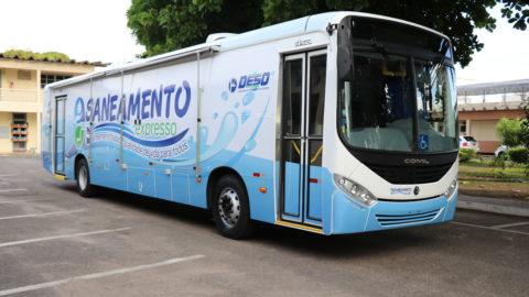 Deso lança unidade móvel para apresentar o passo a passo do saneamento à população de Sergipe