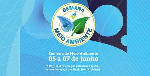 Cagece promove Semana do Meio Ambiente com foco na sustentabilidade