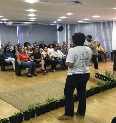 SEMANA MEIO AMBIENTE- Caer leva orientações ambientais para servidores do Poder Judiciário, em Roraima