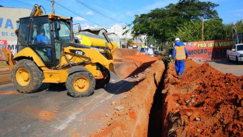 Caesb inicia obras de setorização de rede de água em Taguatinga (DF)