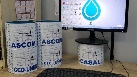 Reciclagem: Casal transforma restos de tubos em utensílios do dia a dia