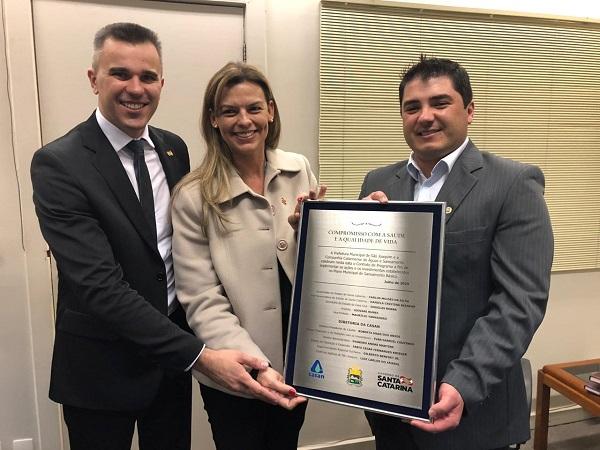 Município de São Joaquim (SC) e Casan firmam Contrato de Programa por mais 34 anos