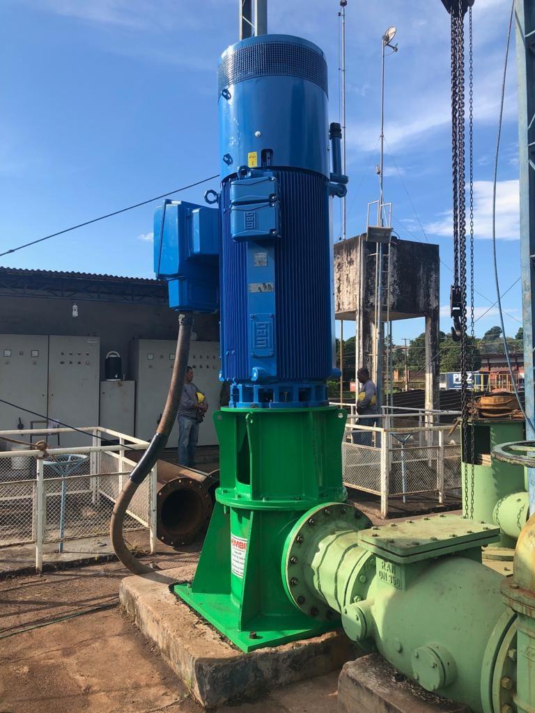 Novo equipamento do Sistema de Água já está em funcionamento em Santarém (PA)