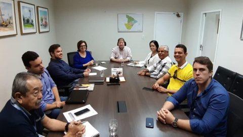 Deso recebe representantes de Carira (SE) para debater Plano Municipal de Saneamento