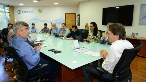 Saneago e Enel criam grupos de trabalho para atender demandas da companhia de saneamento