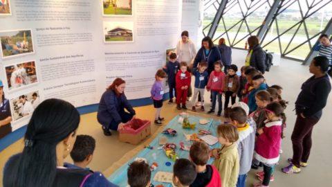 Espaço ambiental da Sanepar lança atividade especial para Educação Infantil