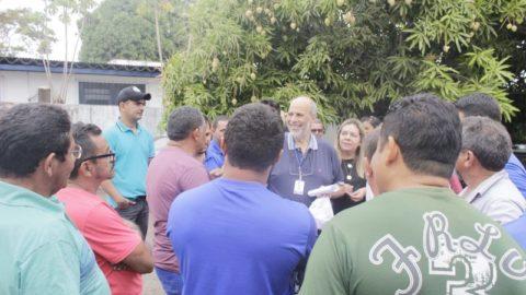 Presidente da Cosanpa faz visita a Marabá (PA) e se reúne com funcionários para discutir ações para melhorar os serviços da companhia no município
