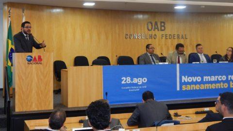Aesbe participa de Audiência Pública sobre novo marco do saneamento na OAB Nacional