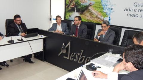 Presidentes de companhias de saneamento de todo o país se reúnem na AESBE para tratar do Marco Legal do setor