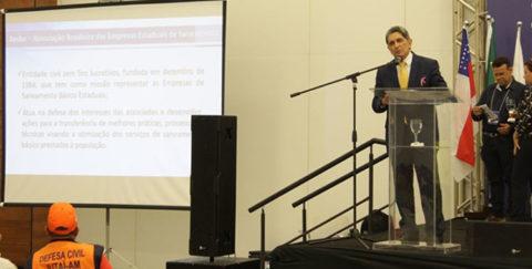 AESBE participa do 1º Seminário de Saneamento Ambiental em Manaus