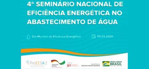 4º Seminário Nacional de Eficiência Energética no Abastecimento de Água