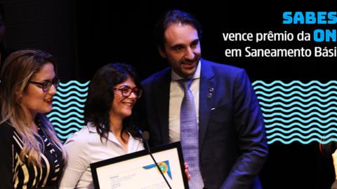Sabesp vence prêmio da ONU em Saneamento Básico