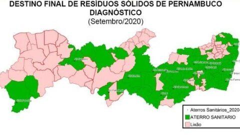 Em Pernambuco, 38,6% das cidades descartam resíduos de forma irregular em lixões, aponta TCE