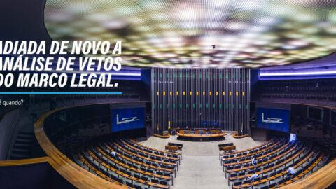 Companhias estaduais de saneamento lamentam novo adiamento para votação dos vetos ao Marco Legal